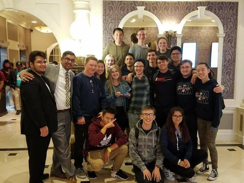YLHS Jazz Band Reno Trip