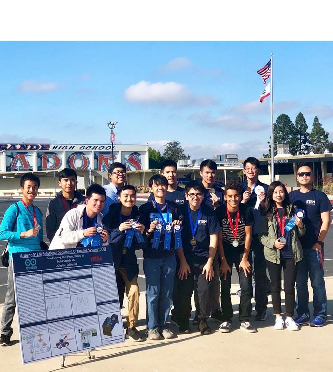 Bolsa Grande STEM Team Wins First Place - Sweeps at National Engineer Design Competition! Thumbnail Image