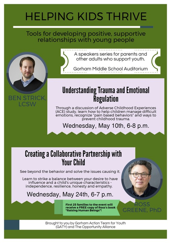 Exciting Learning Opportunities For Gorham Parents Thumbnail Image