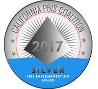 Durfee receives the silver PBIS award