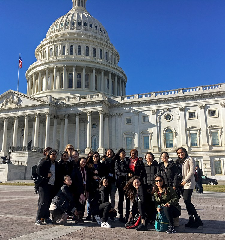 A postcard from our students in Washington DC: Thumbnail Image
