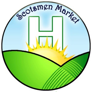 The Highland High School Scotsmen Market Logo
