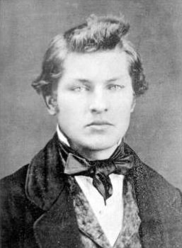 James A. Garfield at age 16