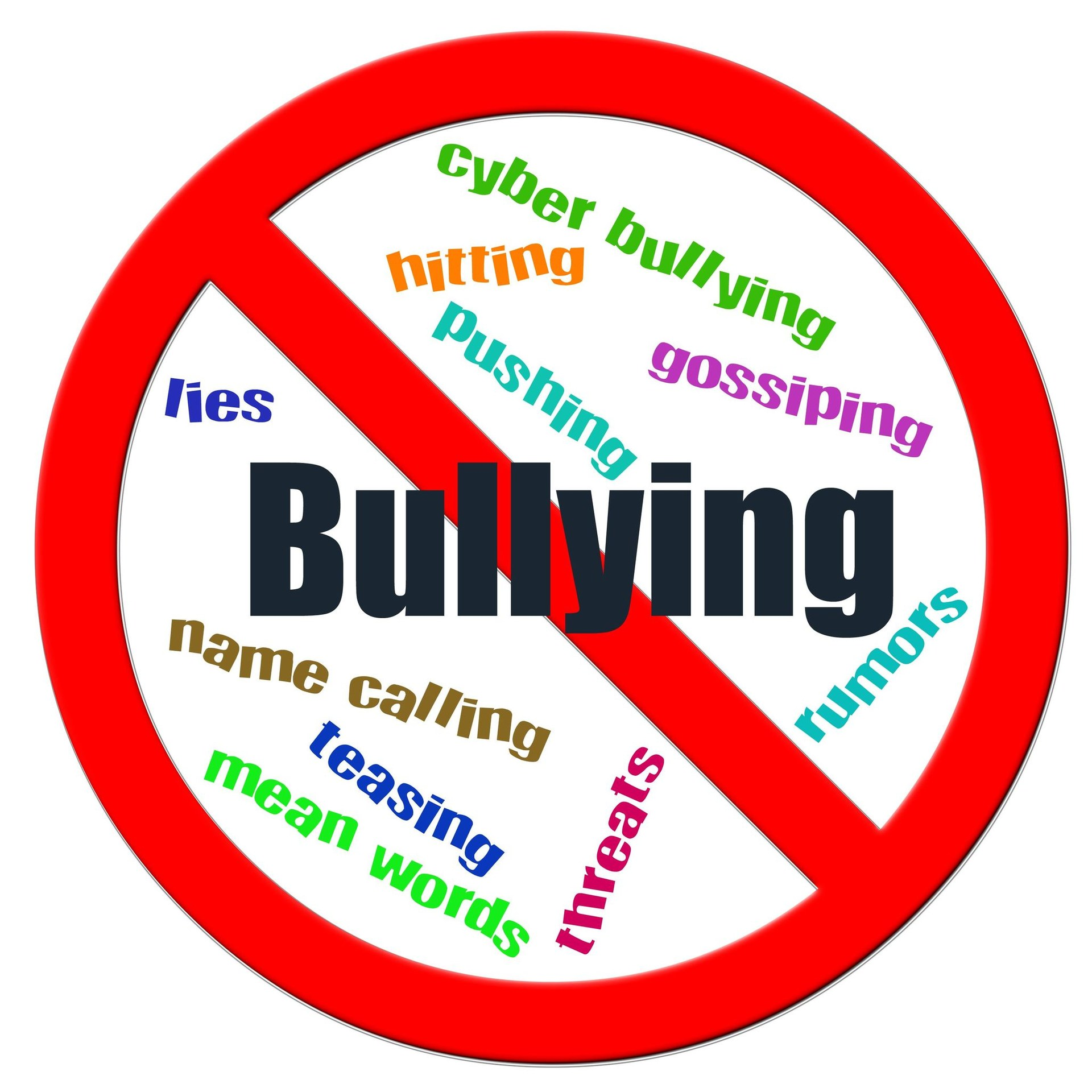 bully awareness sign