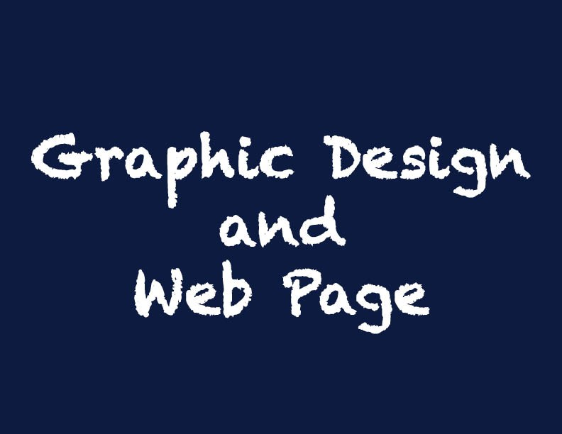 Graphic Design and Web Page
