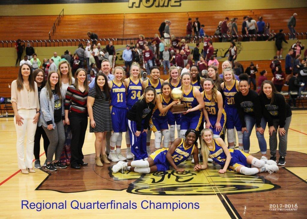Frenship Girls Basketball Regional Quarterfinal Champions