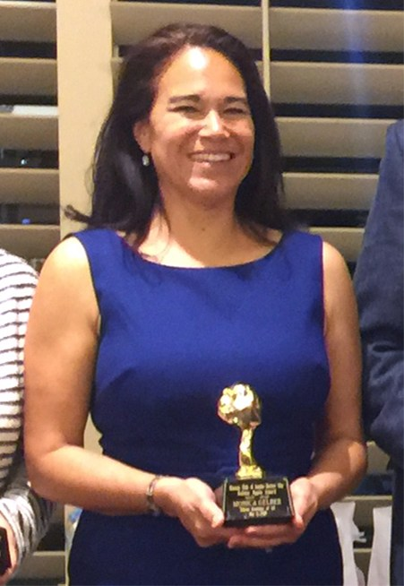 Teacher Monica Gelber awarded the Golden Apple for 2018 Thumbnail Image