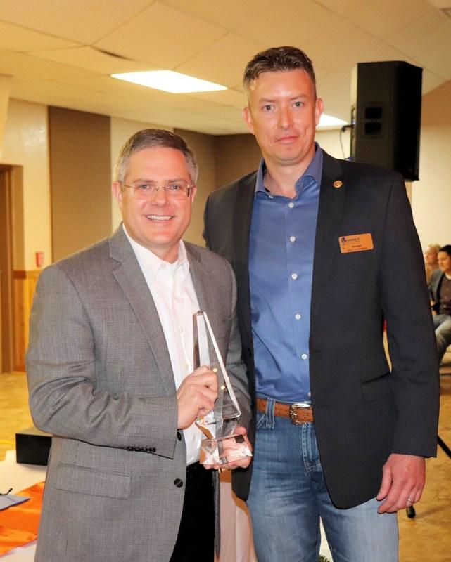 Superintendent Keith McBurnett named 2018 Burnet Citizen of the Year Thumbnail Image
