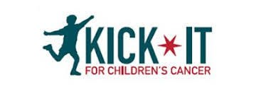 Kick it for cancer logo