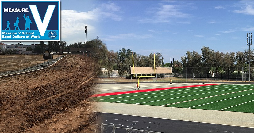 Elsinore High Soccer, Football and Track replacement, Measure V
