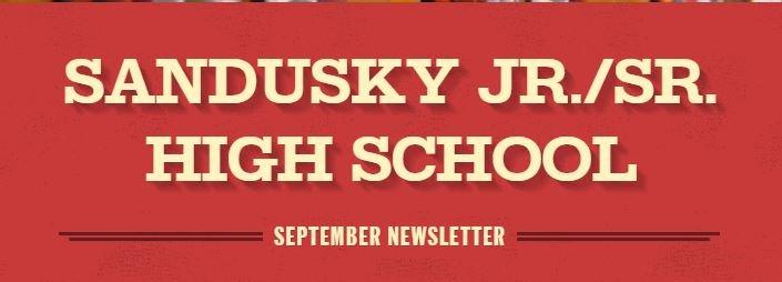 Jr./Sr. High School September Newsletter Featured Photo