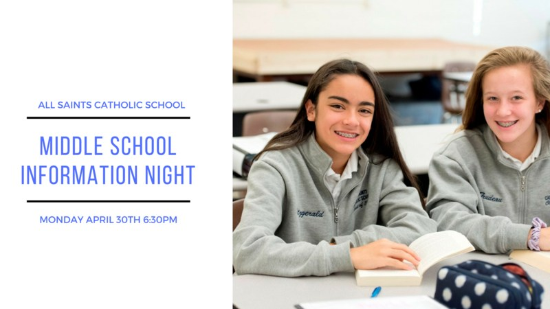 Middle School Information Night Thumbnail Image