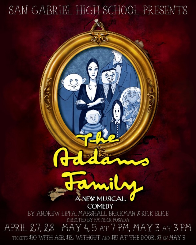 SPRING MUSICAL - THE ADDAMS FAMILY Thumbnail Image