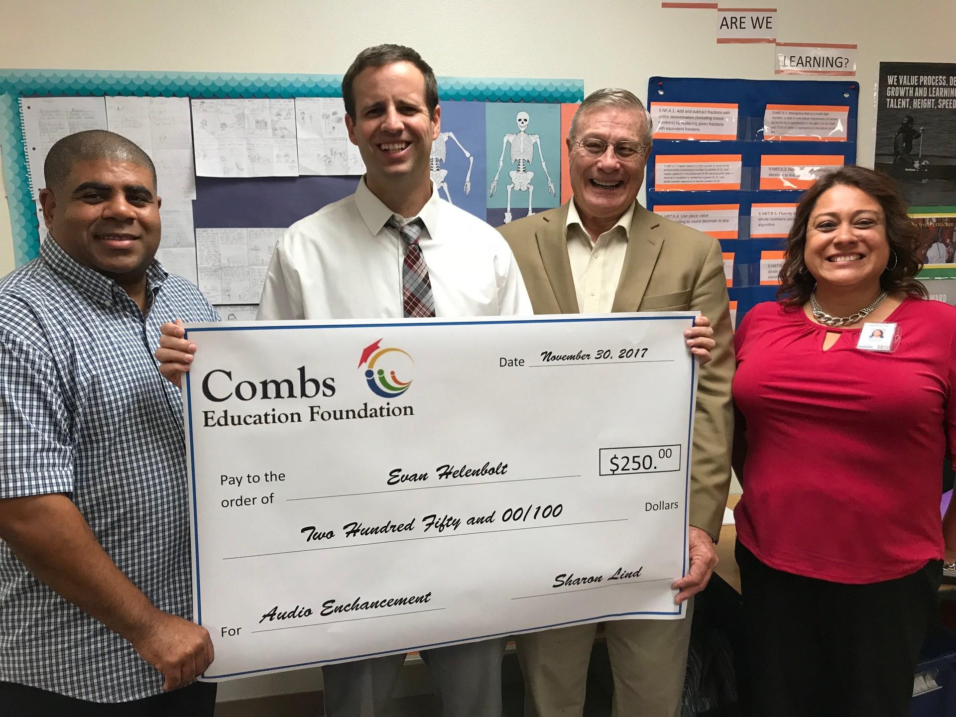 2017 Classroom Grant Winner