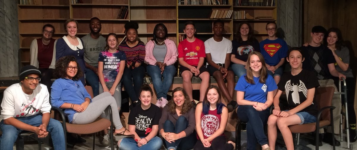 Drama group image for FHS welcome page