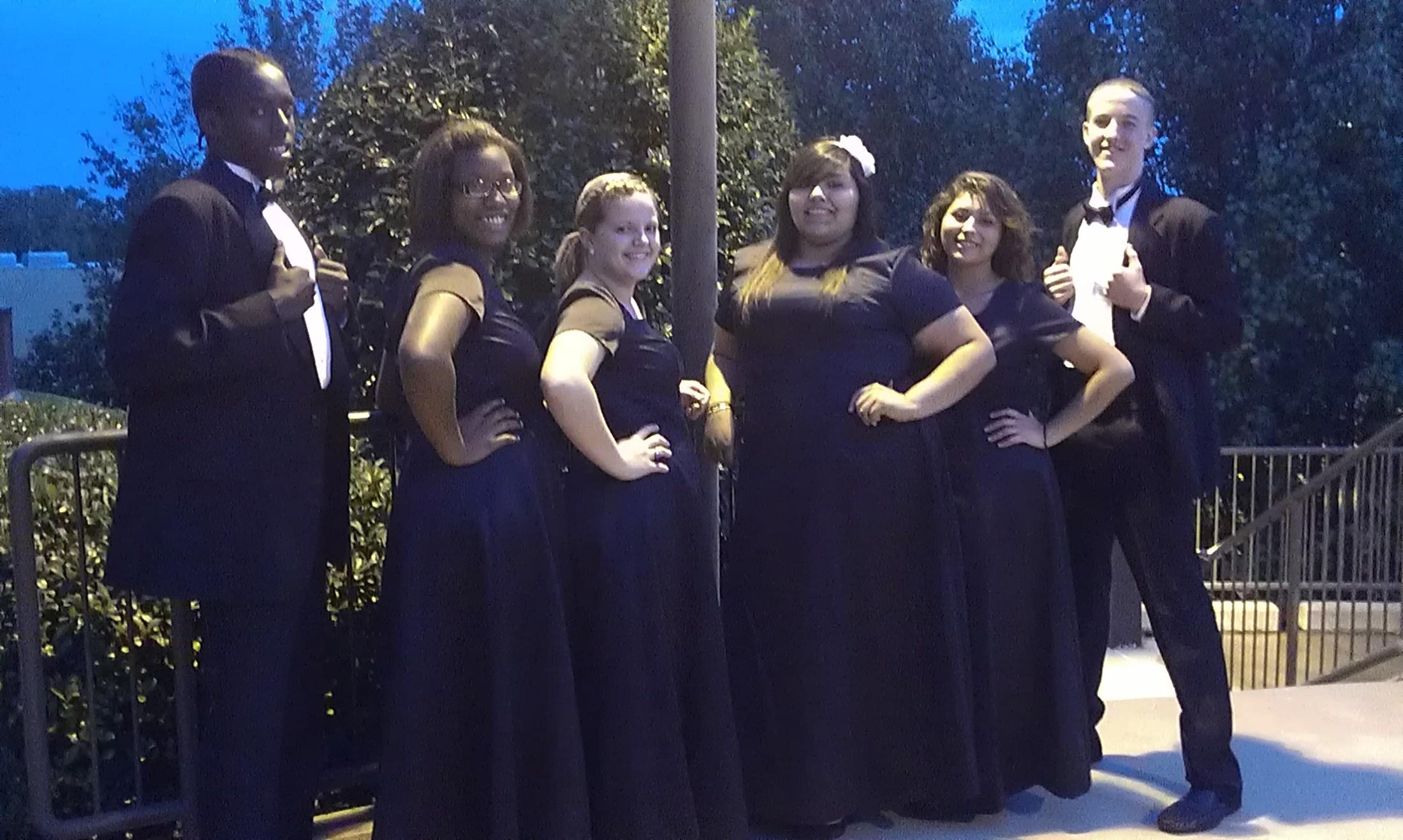 All-Region Choir Members 2012