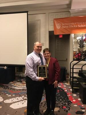Ben Reed Accepting Award