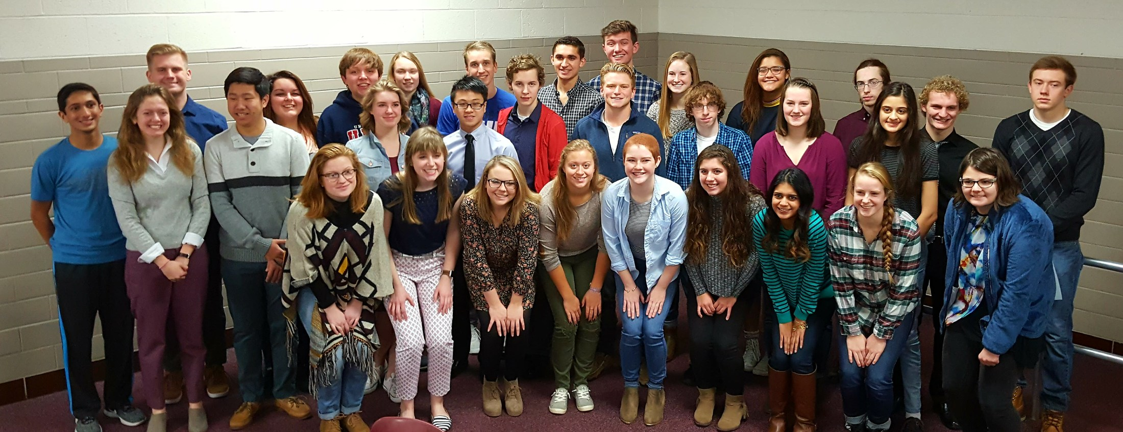 Photo of 54 MHS students named as Illinois State Scholars