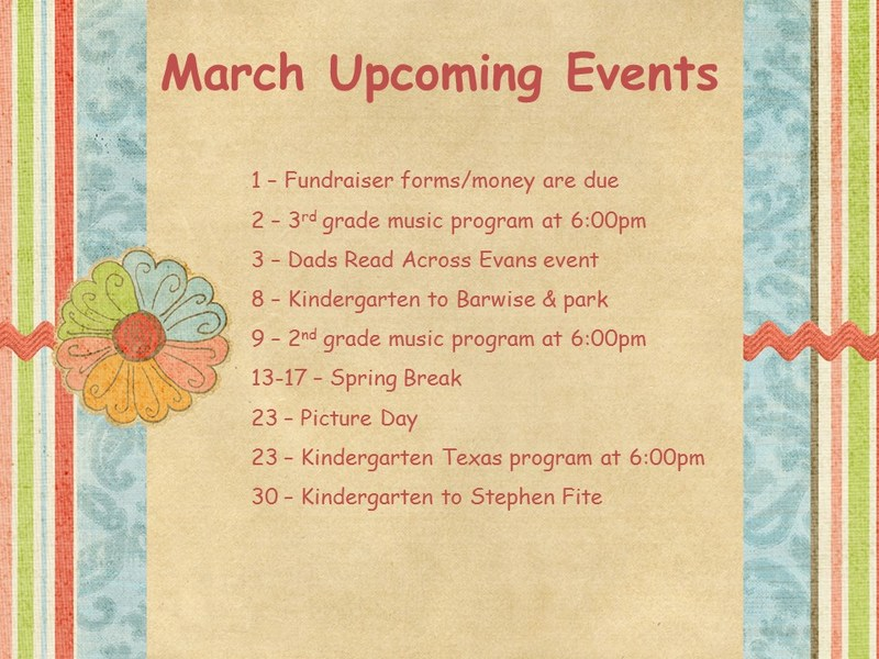 Upcoming March Events Thumbnail Image