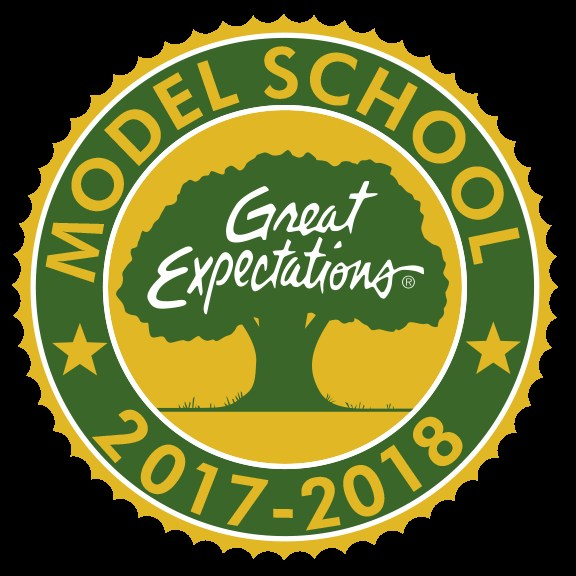 Great Expectations Model School Badge
