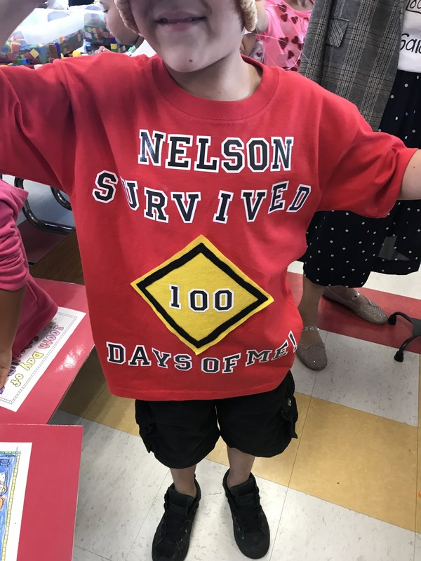 Nelson Kinders Celebrate 100th Day of School Featured Photo