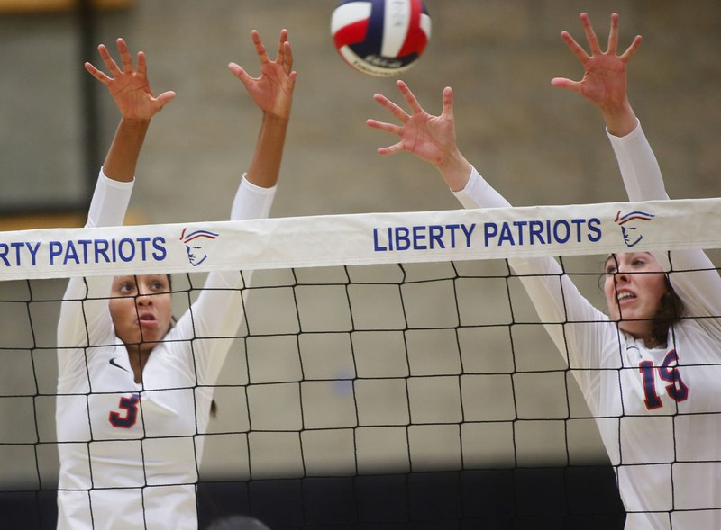 Liberty rolls Independence in volleyball home opener Thumbnail Image