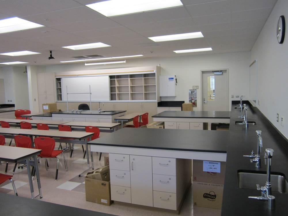 Hemet High School New Science Classroom