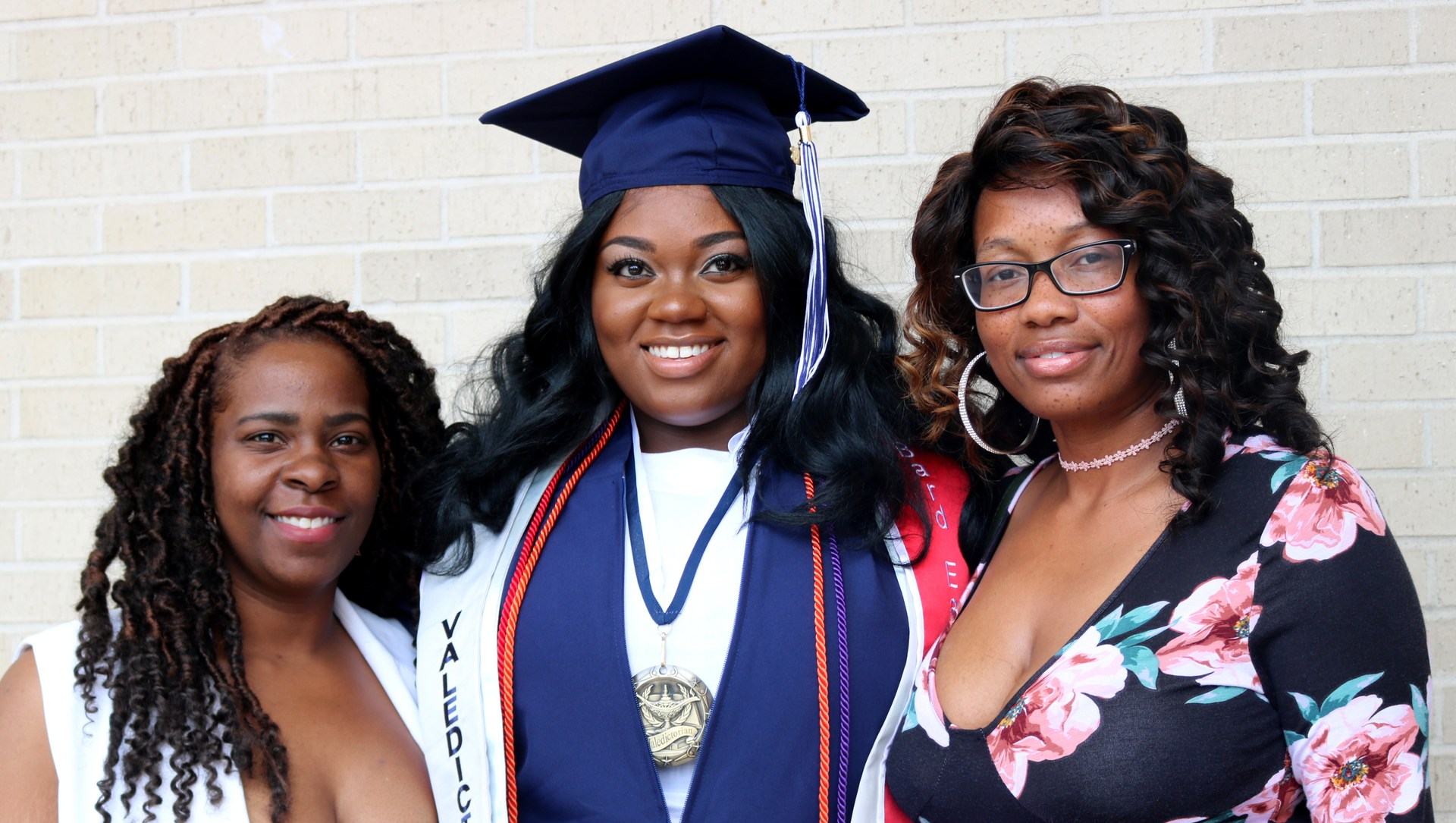 The KRHS 2018 Valedictorian and her family