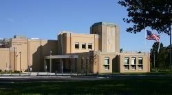 This is a picture of our high school, which was built in 2010.