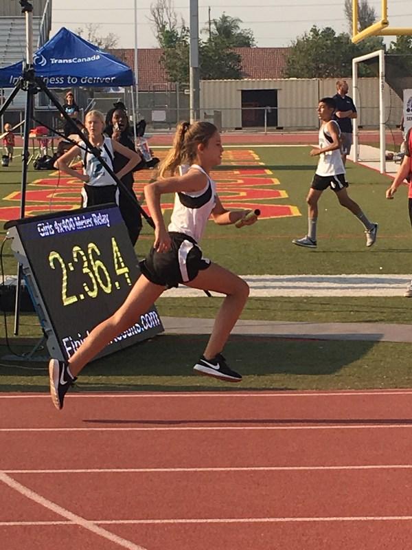 Dartmouth Track at Bad Dogs Invitational at Hemet High School