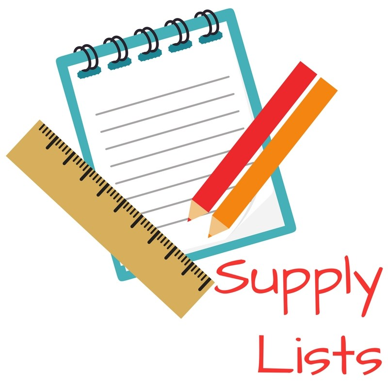 2019-2020 Supply Lists Thumbnail Image