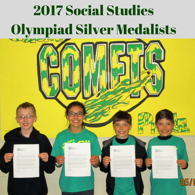 Science Olympiad Silver Medalists Thumbnail Image