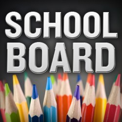 School Board text written above pencils