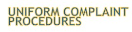 Uniform Complaint Procedures logo