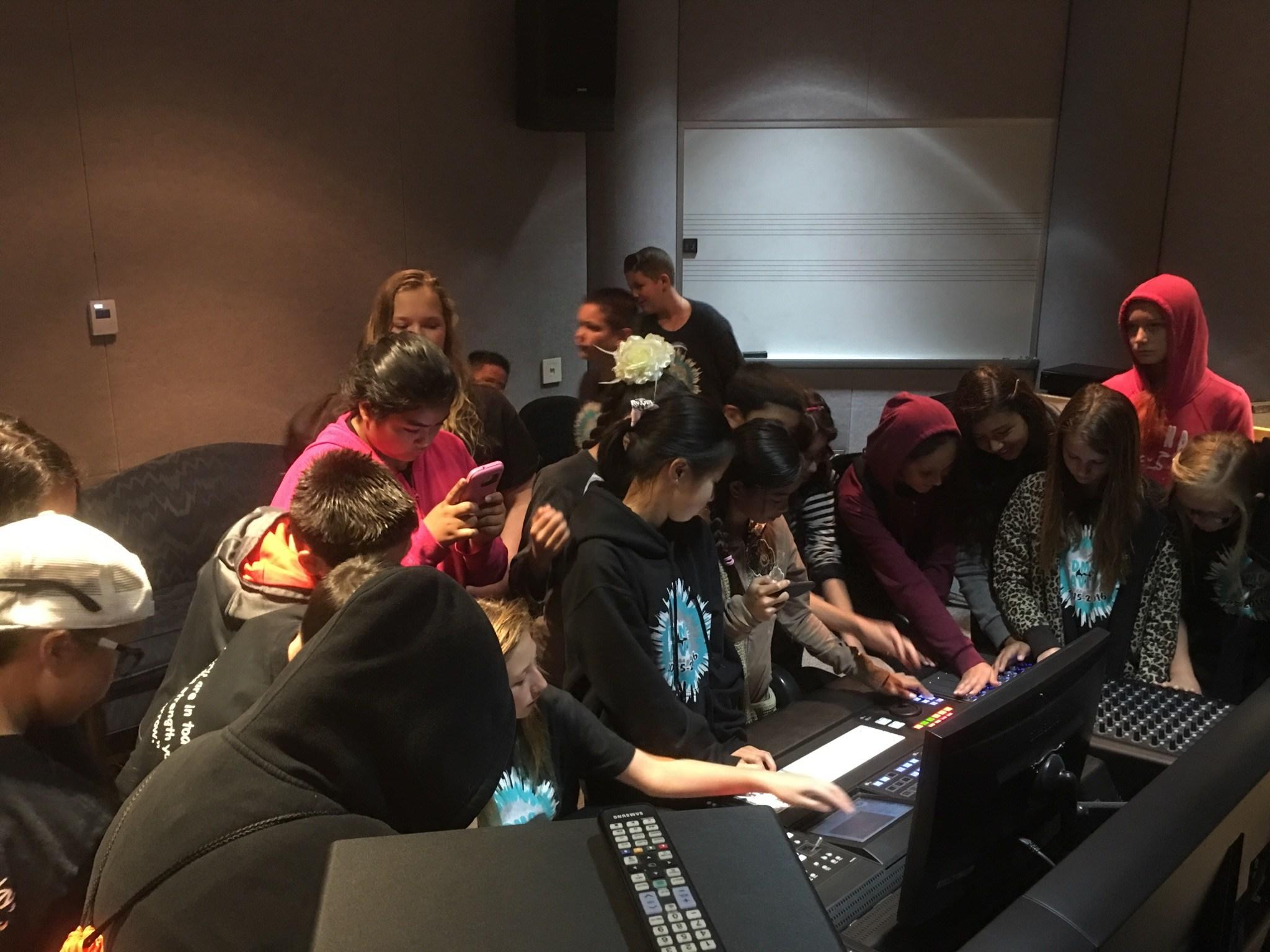 Dartmouth AVID students visiting MSJC in San Jacinto
