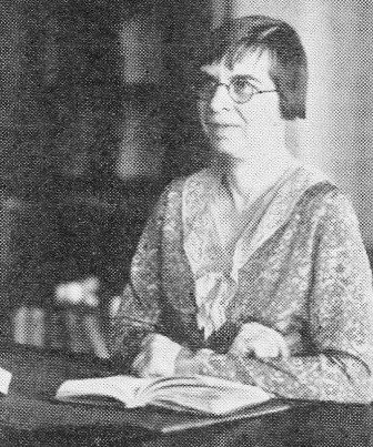 Miss Abbie Doughty, Garfield's first librarian