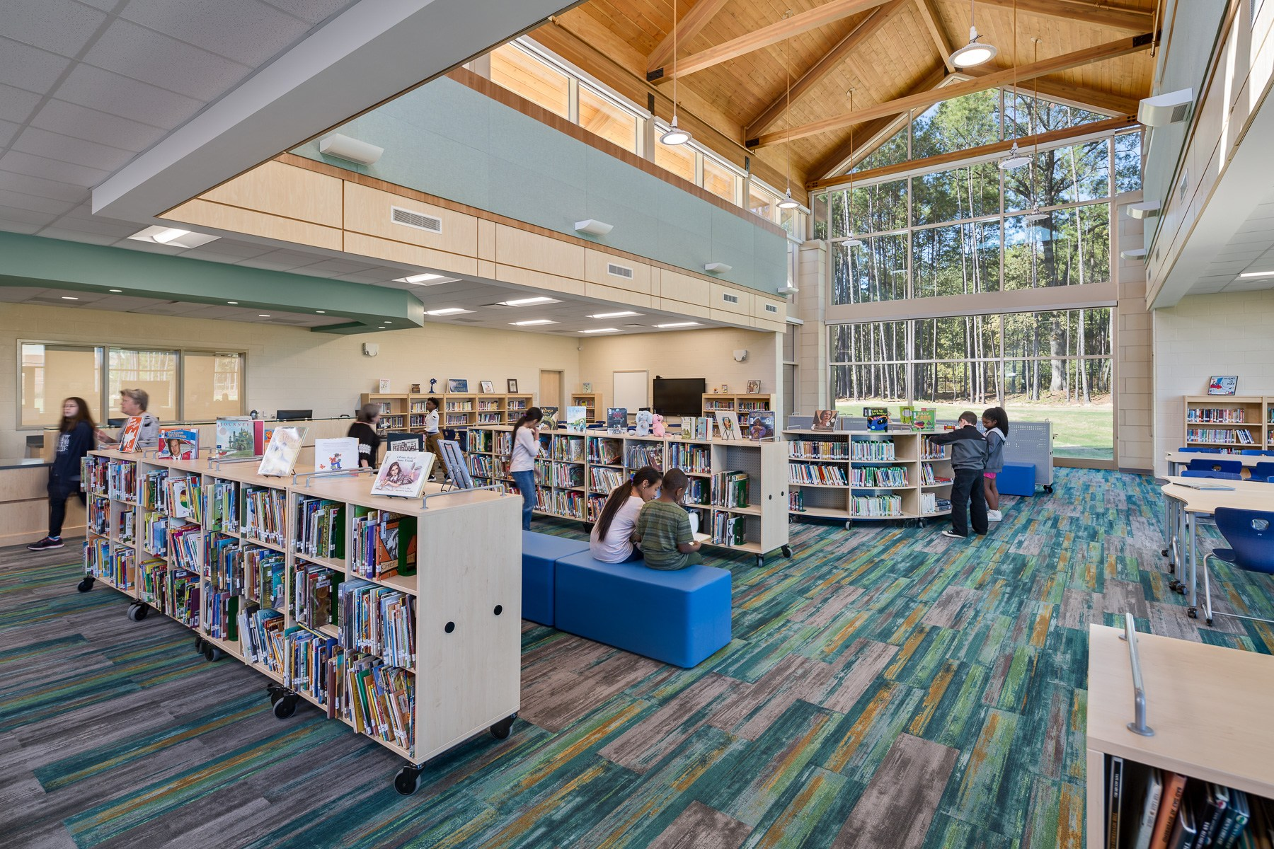 Cayce Elementary - Media Center