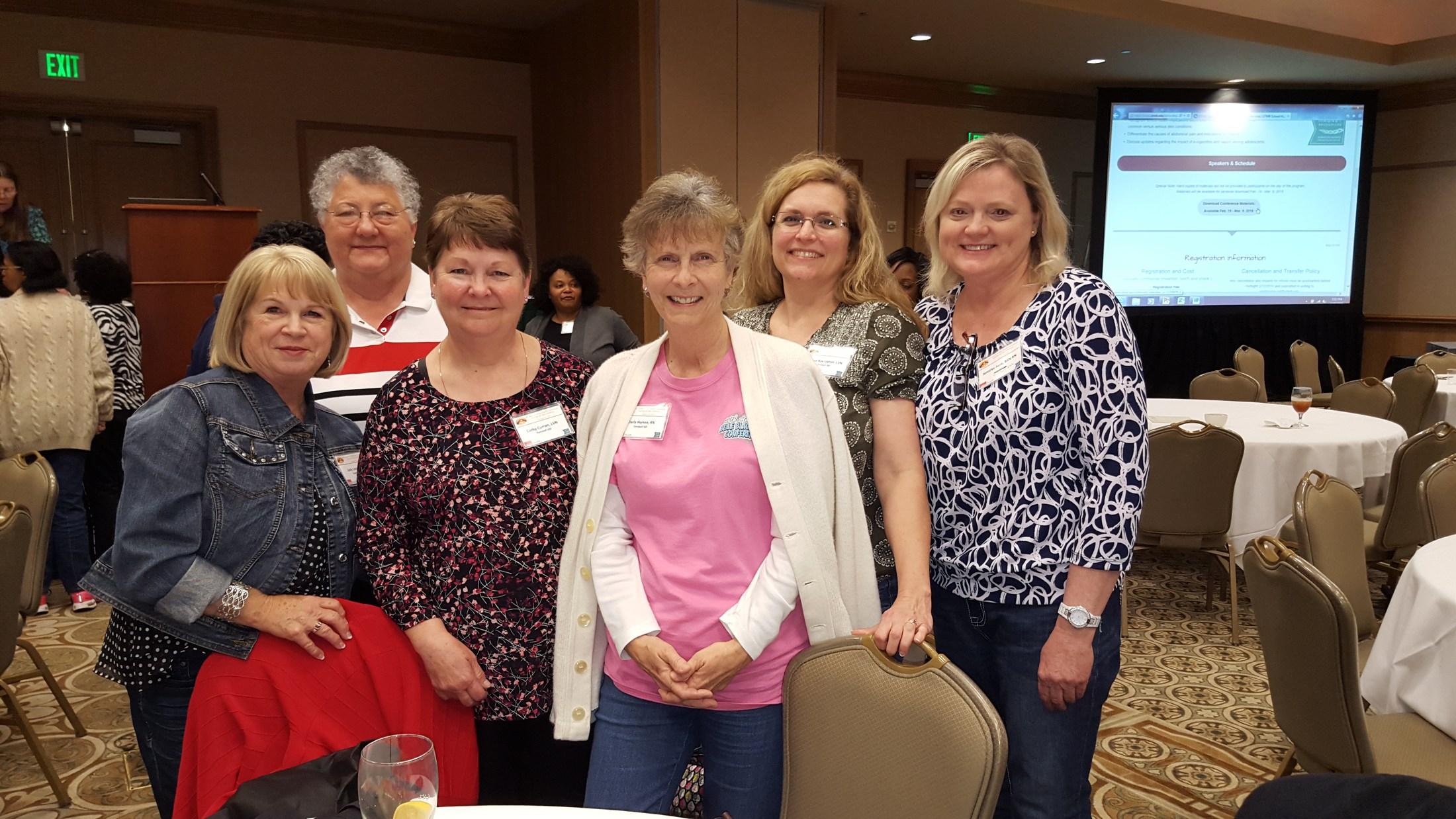 TISD Nurses at Galveston Conference