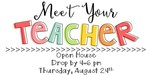 Meet your Teacher at Open House