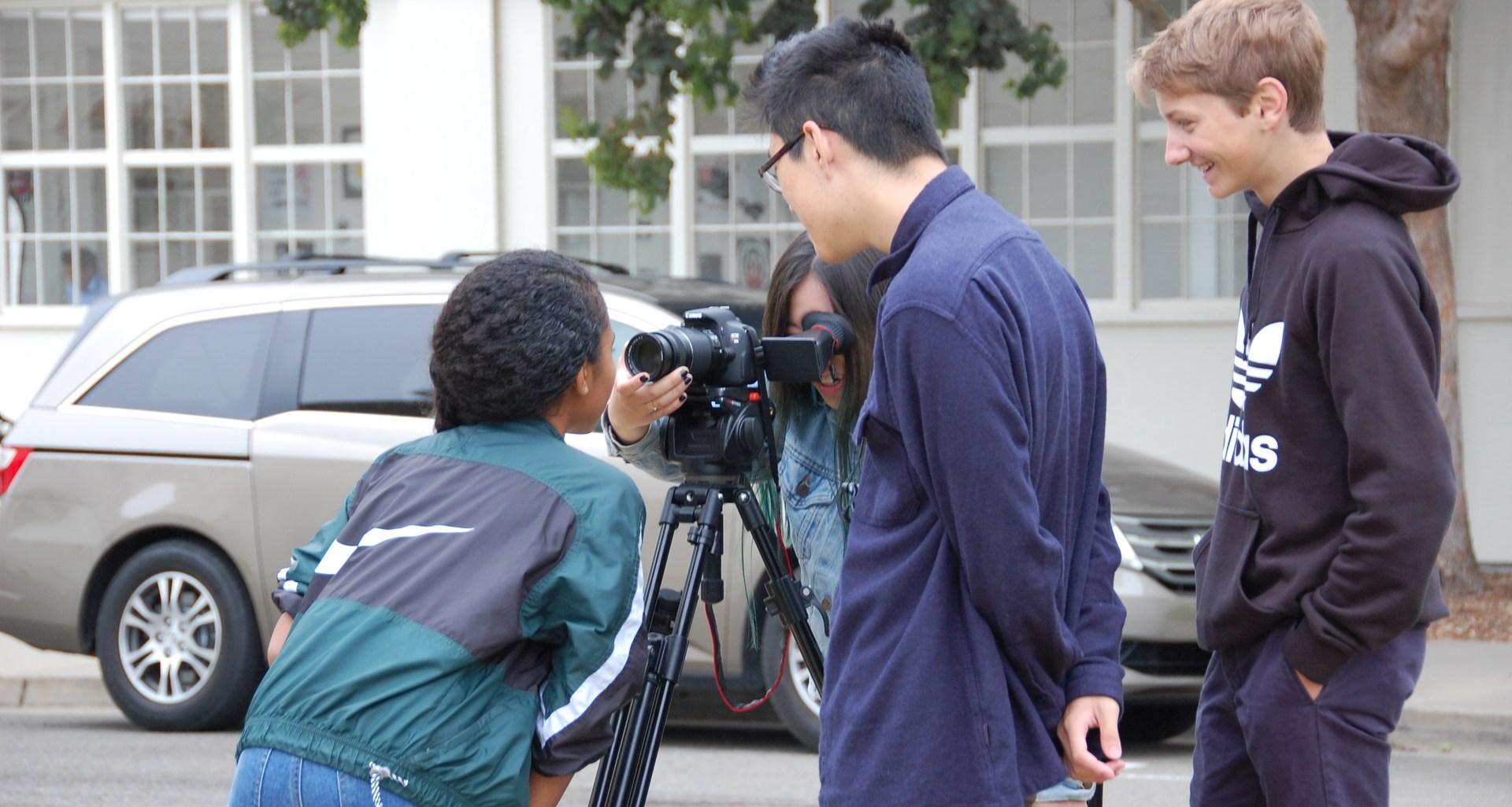 Digital Imaging students