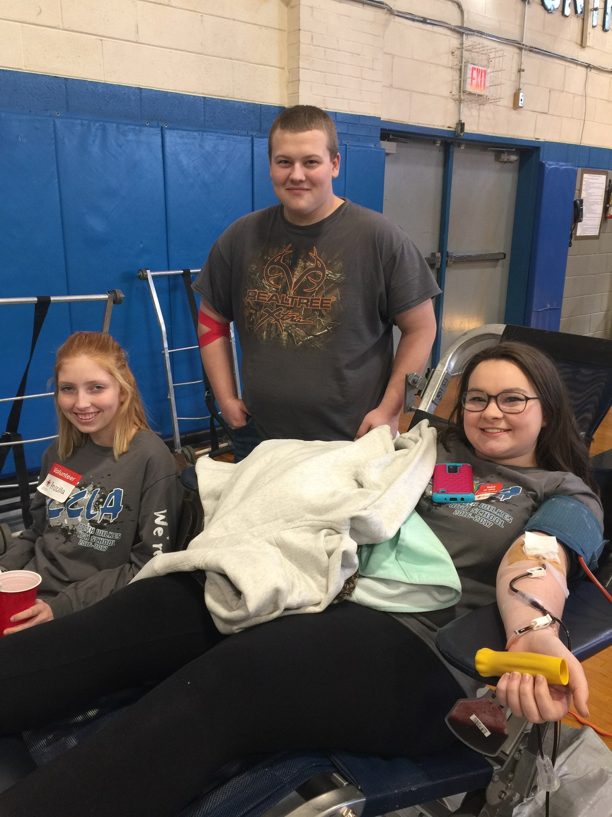 North Wilkes High's FCCLA Blood Drive