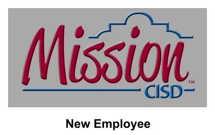 Mission CISD New Employee Logo