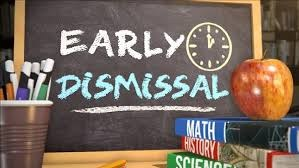 Early Dismissal this Friday! Thumbnail Image