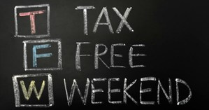 Tax Free Weekend Text Picture
