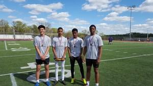 Boys 4X100 Team Record Plum