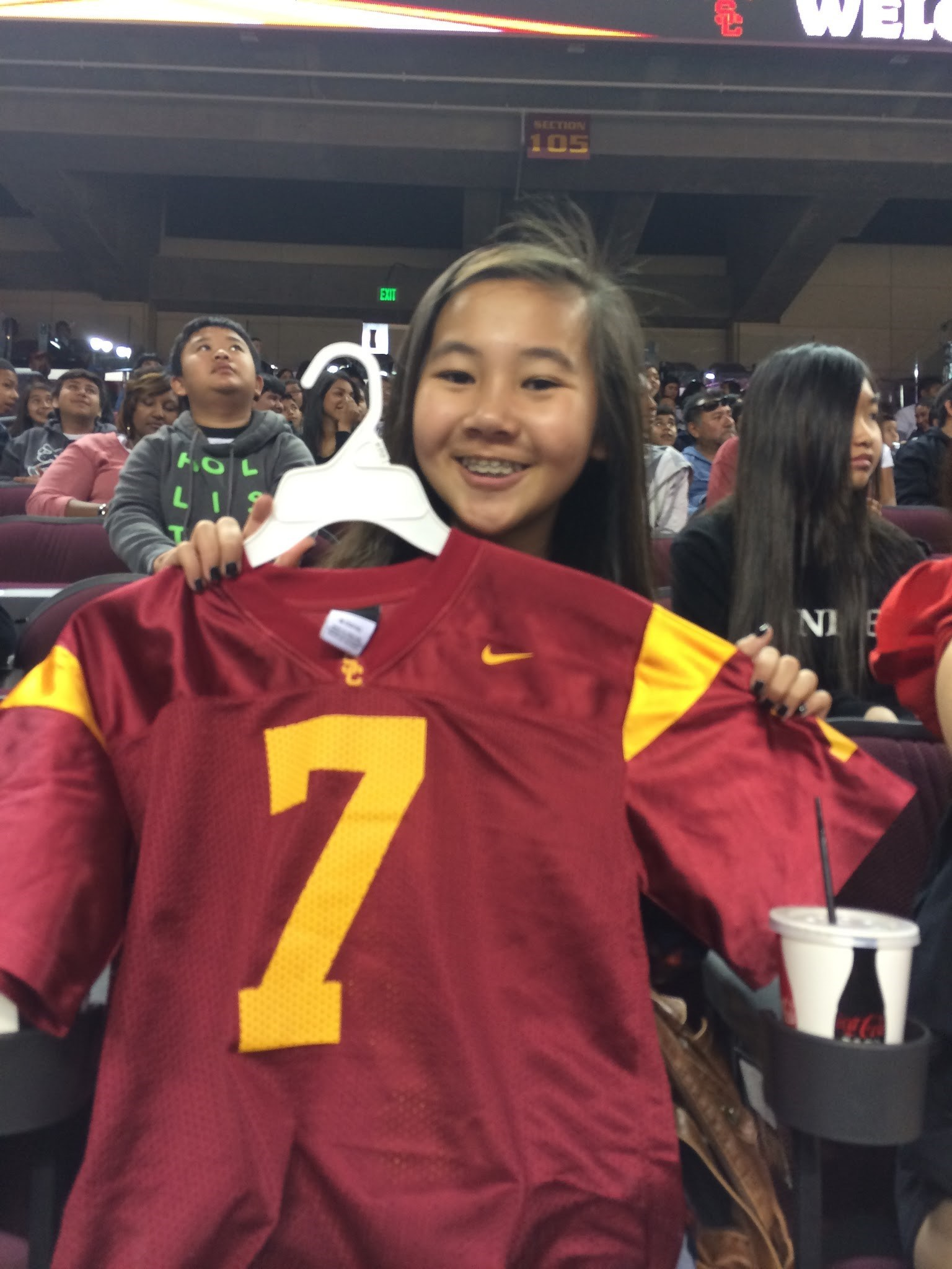 Students get USC Jerseys