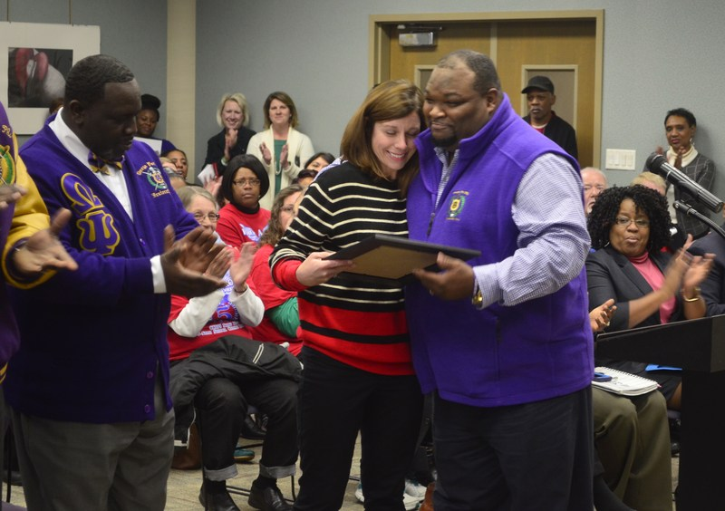 DCSS Speech Therapist Honored for Life-saving Efforts Thumbnail Image