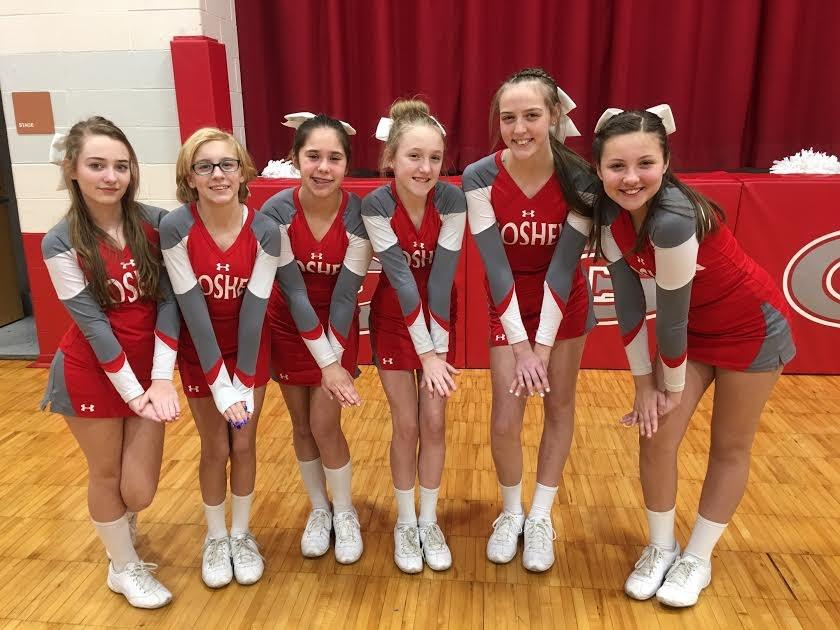 7th grade cheerleaders