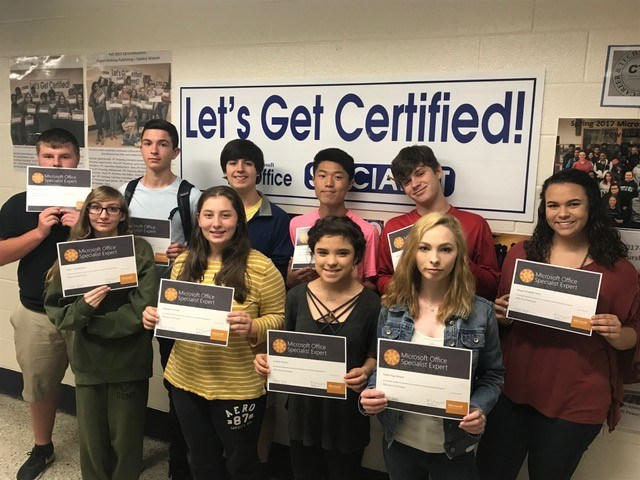 IBA students receive Microsoft Office Specialist certification Featured Photo
