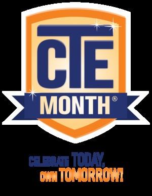 CTE Month Poster